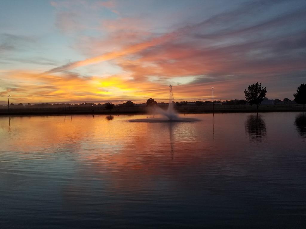 Complex sunrise